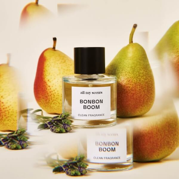 Allmyscents Bonbon Boom Ingredients